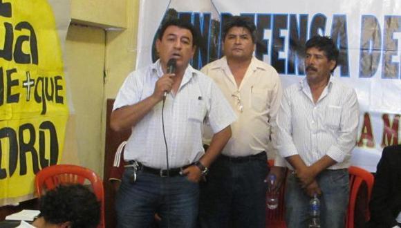 Dirigentes antimineros fueron condenados por bloquear carretera