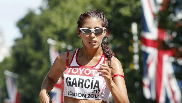 Kimberly García compite en marcha, pero no puede usar los escenarios de Huancayo. (Foto: GEC)