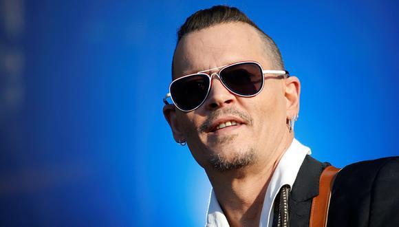 Johnny Depp durante un concierto con la banda Hollywood Vampires en el Hellfest Music Festival de Clisson, Francia. (Foto: Reuters)
