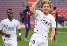 Barcelona - Real Madrid: Luka Modric fue la pieza clave en el clásico español