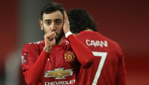 Sigue el partido por la cuarta ronda de la FA Cup en Old Trafford | Foto: AFP