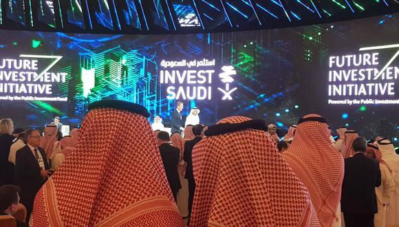 Davos del desierto | Foro económico más importante de Arabia Saudita inicia con un boicot internacional por caso del periodista Jamal Khashoggi. (Bloomberg)