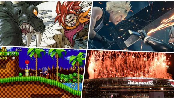 En la inauguración de Tokio 2020, Japón utilizó soundtracks orquestales de piezas icónicas de algunos de los videojuegos mejor musicalizados de la historia (Fotos: Sega/ Square-Enix/ AFP)