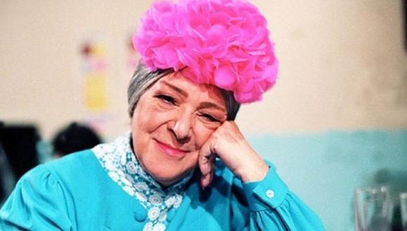 """Angelines Fernández falleció en 1994, pero siempre será recordada por su papel de la 'Bruja del 71' en el programa mexicano """"El Chavo del 8"""" (Foto: Televisa)"""