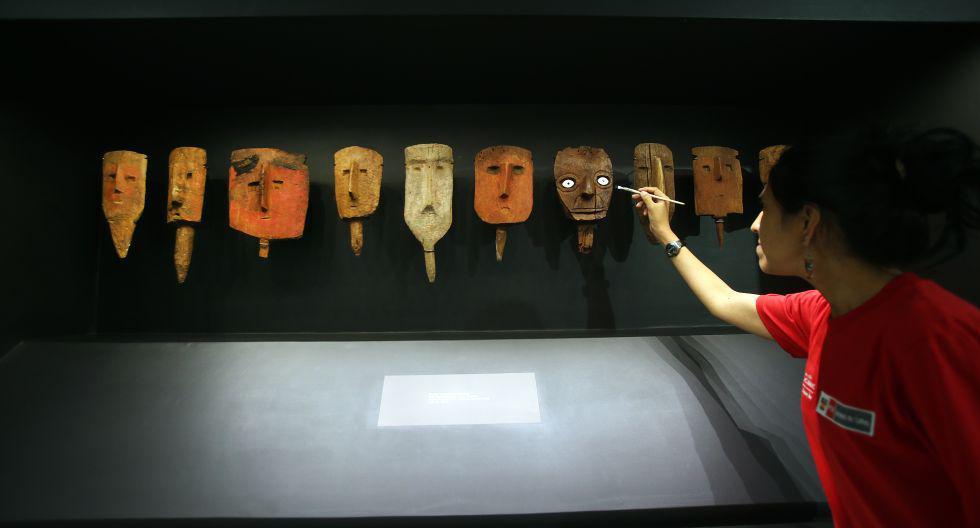20 DE ENERO DE 2016 COMPLEJO ARQUEOLOGICO DE PACHACAMAC EN LURIN RENOVADO MUSEO DE SITIO DE PACHACAMAC   FOTO : ROLLY REYNA / EL COMERCIO PERU
