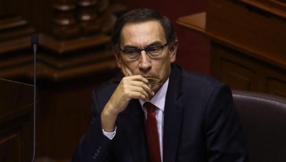 Martín Vizcarra fue vacado por el Congreso, medida que permitió que Manuel Merino de Lama, congresista de Acción Popular, asuma la presidencia del Perú. (Foto: GEC)