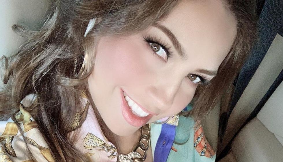 Thalía dejó en evidencia cómo le maquillan las axilas (Foto:@thalia)