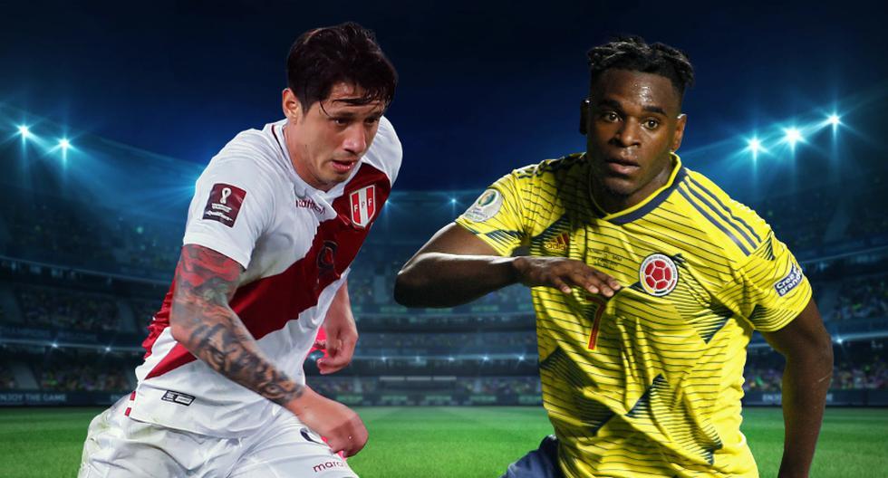 Gianluca Lapadula y Duván Zapata son las cartas de gol de Perú y Colombia para el partido por la Copa América 2021.