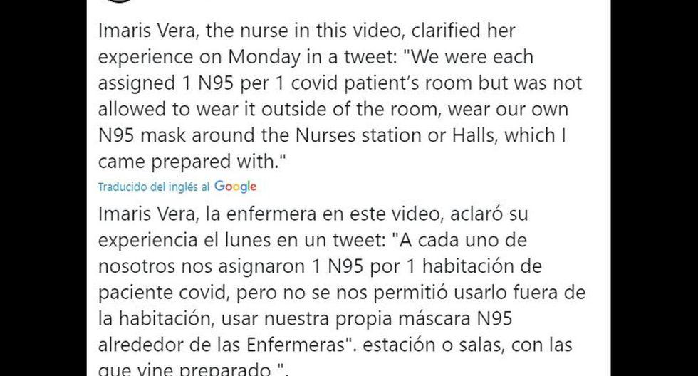 CBS ante el revuelo cibernético se comunicó con Imaris Vega para conocer la versión de sus hechos. (Foto: Twitter)