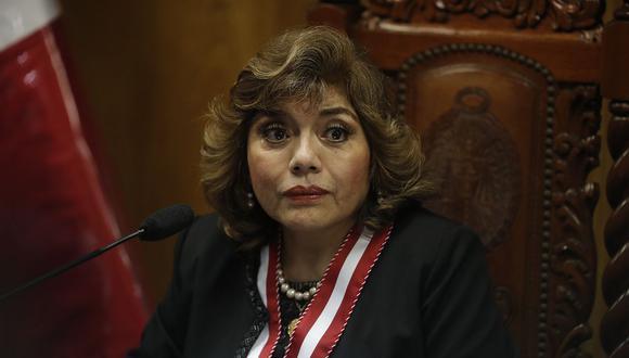 La fiscal de la Nación, Zoraida Ávalos, es quien debe iniciar investigaciones por tratarse del congresista Yonhy Lescano. (Foto: GEC)