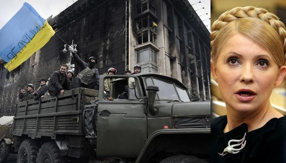 Ucrania: manifestantes toman Kiev y Timoshenko es liberada