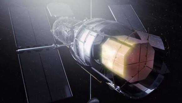 """Hubble ingresó al """"triángulo de las bermudas espacial"""""""
