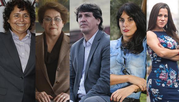 Distintos partidos han integrado a sus filas a personajes con perfiles convocantes (Fotos: Grupo El Comercio).