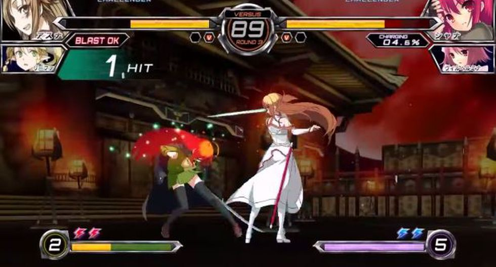 Dengeki Bunko: Fighting Climax, un juego para amantes del anime