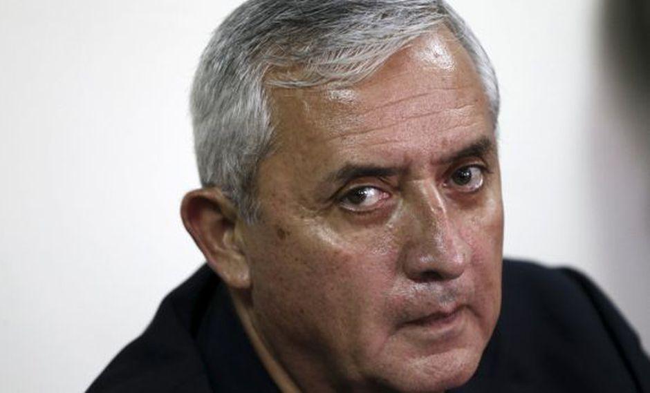 Guatemala: Justicia embargó US$692.000 de Otto Pérez Molina
