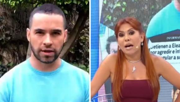 Magaly Medina cuestionó que el actor Eleazar Gómez haya salido tan rápido de prisión. (Foto: Captura ATV / @eleazargomez333).