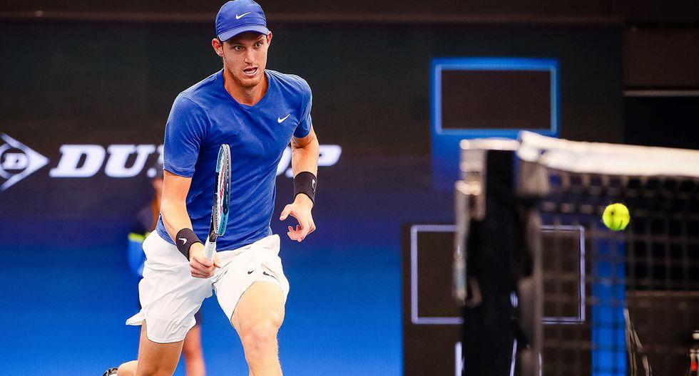 Nicolás Jarry es la raqueta número 2 de Chile. (Foto: AFP)