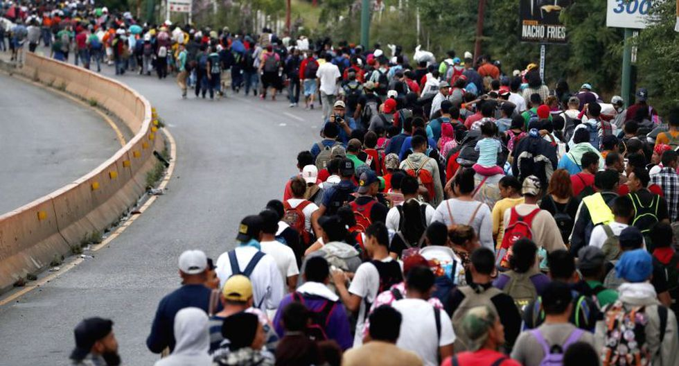 Con Cruz suman cinco los migrantes hondureños muertos desde que salió la primera caravana, tres de ellos en octubre. | Foto: EFE / Referencial