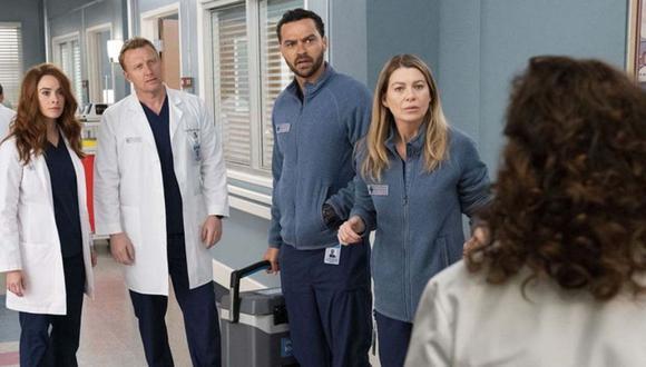 Se han publicado imágenes de lo que se verá en el primer capítulo de la segunda parte de la temporada 16 de Grey's Anatomy (ABC)