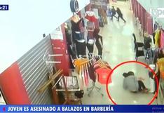 Callao: sicario asesina a balazos a joven que se atendía en una barbería