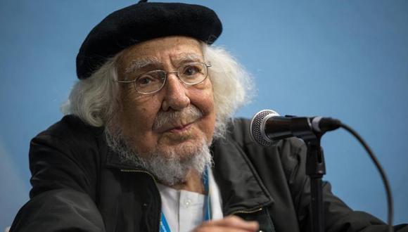 El poeta nicaragüense Ernesto Cardenal fue uno de los homenajeados. (Foto: @FILGuadalajara)