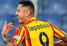 Selección peruana: FPF confirmó contacto con Gianluca Lapadula para asesoría en trámites