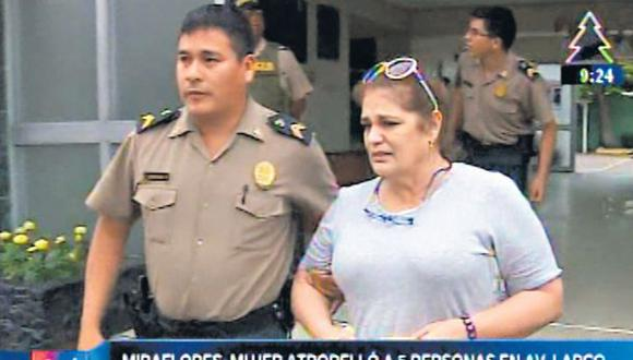Piden 9 meses de prisión para mujer que arrolló a 5 personas