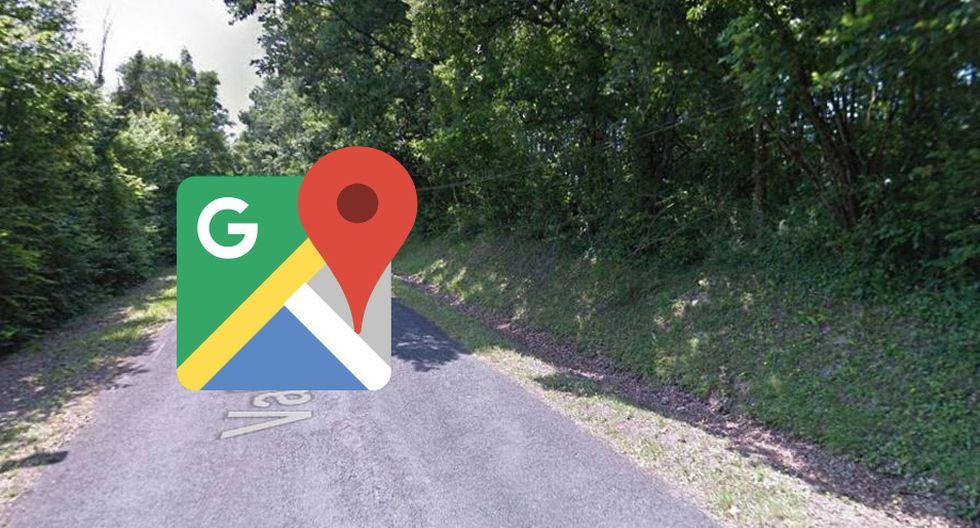 Quizá este sea el detalle más romántico que veas en Google Maps. Imagen ha dado la vuelta al mundo y soltado suspiros en muchos. (Foto: Captura)