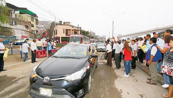 San Juan de Lurigancho: municipio reabrió vía cerrada por obras