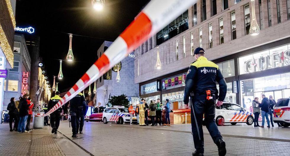 Varias personas resultan heridas por apuñalamiento en calle comercial en La Haya. (Foto: EFE).