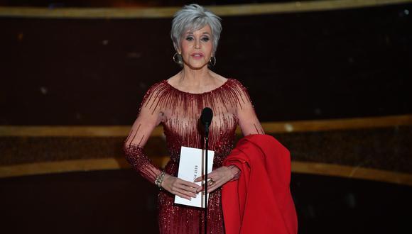 Jane Fonda será homenajeada en los Globos de Oro por su trayectoria artística. (Foto: AFP / Mark RALSTON)