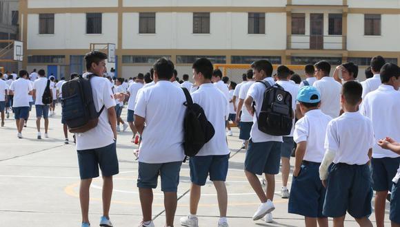 El Minedu informó que hasta el momento se han presentado 125.000 solicitudes de traslado a colegios públicos. (Foto: GEC)