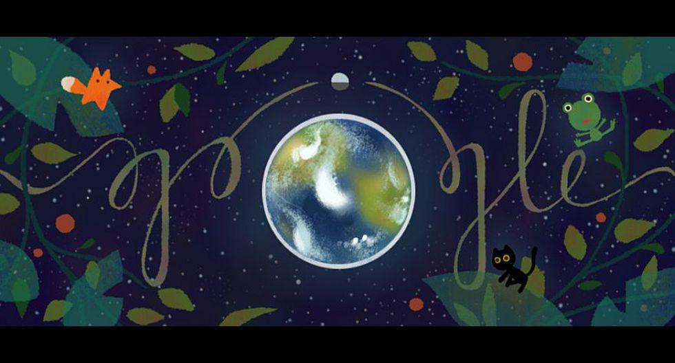 Google: doodle llama a la reflexión por el Día de la Tierra - 1