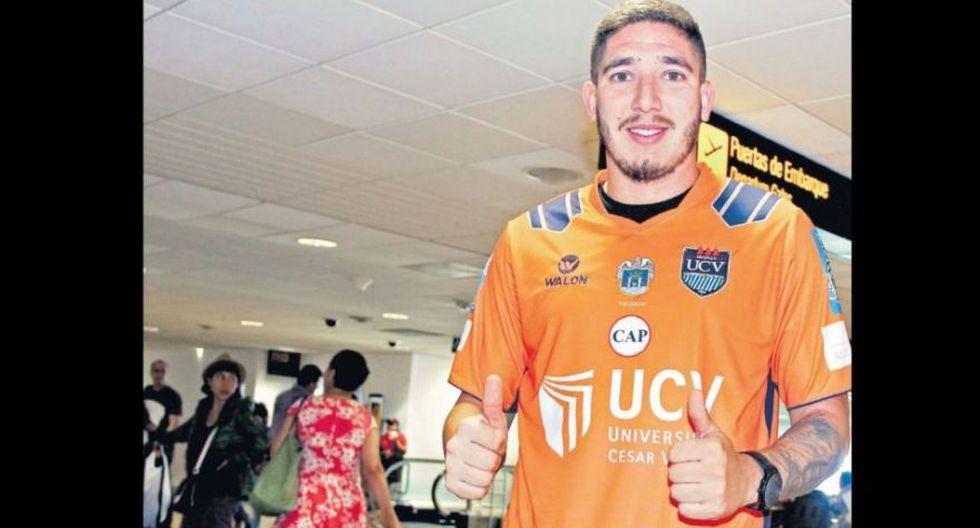 Santiago Silva - UCV: 500 mil euros. (Foto: GEC).