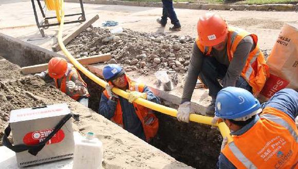 Los hogares piuranos tendrán gas natural por vez primera a partir de abril de este año, salvo que el Poder Judicial dictaminé lo contrario. (Foto: Difusión)