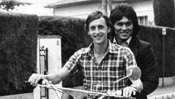 Hugo Sotil le puso Johan a uno de sus hijos por una promesa al amigo Cruyff. (Foto: Barcelona)