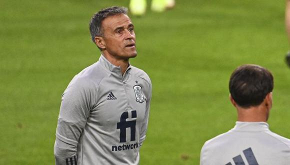 Luis Enrique es seleccionador de España desde noviembre del 2019. (Foto: AFP)