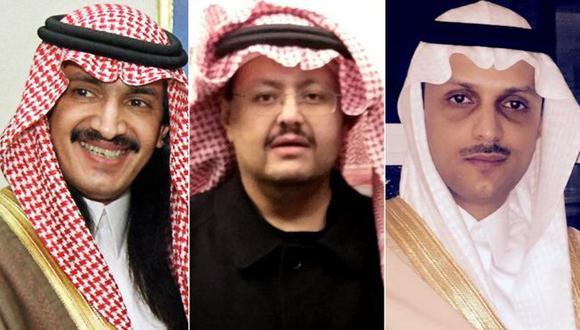 Los tres príncipes habían criticado al gobierno de Arabia Saudí y llamado a la adopción de reformas.