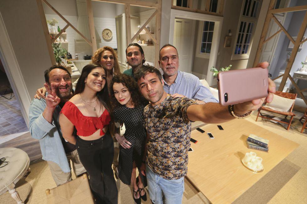 El selfie, preludio del caos. (Foto: Manuel Melgar)