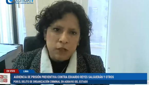 Fiscal Vanessa Díaz, a cargo del caso Los Dinámicos del Centro.