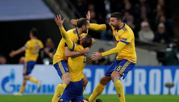 Tottenham cayó en casa 2-1 ante Juventus, pese a que estuvo adelante en el marcador. Los italianos fueron inteligentes y sólidos en defensa. (Foto: Reuters)