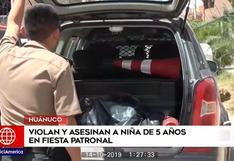 Huánuco: menor desaparece de fiesta patronal y es hallada sin vida horas después | VIDEO