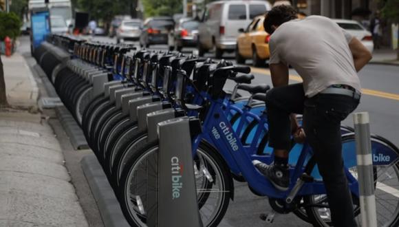 La nueva función de compartir bicicletas está disponible en Google Maps tanto en iOS como en Android. (Captura de pantalla)