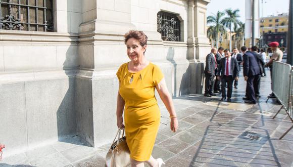 Norma Alencastre (Somos Perú) es la secretaria de la Comisión de Transportes y Comunicaciones del Parlamento. (Foto: GEC)