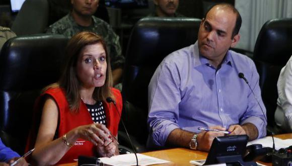 La primera ministra Mercedes Aráoz señaló que espera profundizar el trabajo de su antecesor Fernando Zavala. (Foto: Archivo El Comercio)