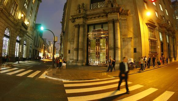 El índice S&P/BVL Perú General retrocedió un -1.09%. (Foto: GEC)