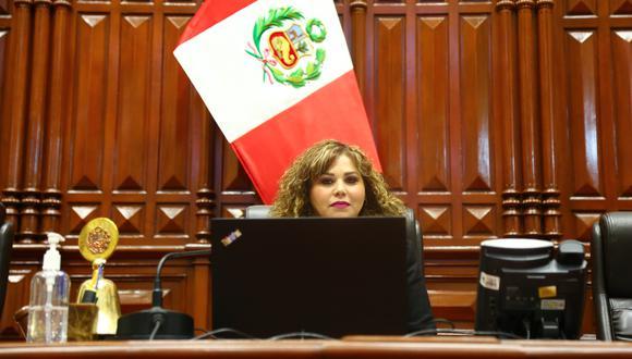 """La oficina de María Teresa Cabrera fue """"violentada"""" según reveló su colega de bancada José Luna Morales. (Foto: Congreso)"""