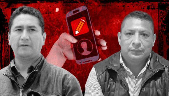 Cerrón y Rojas registran llamadas con líder de PL y otros implicados en Caso Los Dinámicos del Centro. (Ilustración: El Comercio)