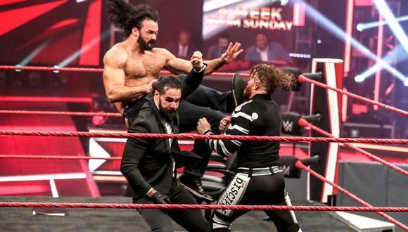 Sigue todas las incidencias de Raw este lunes 4 de mayo. (Foto: WWE)