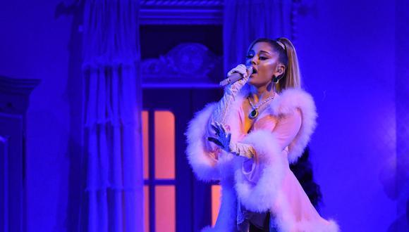 Ariana Grande lanza un nuevo álbum y respalda a Joe Biden. (Foto: Robyn Beck / AFP)